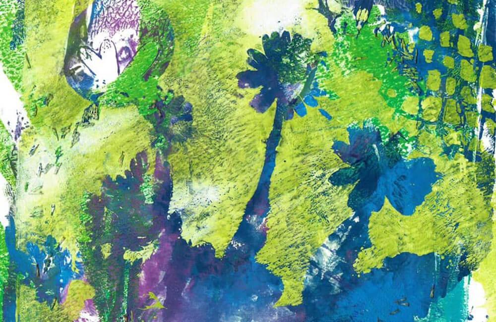 Postkarte Blütenzauber
