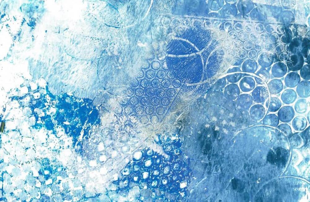 Postkarte Eiszeit