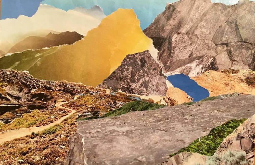 Postkarte im hohen Atlas