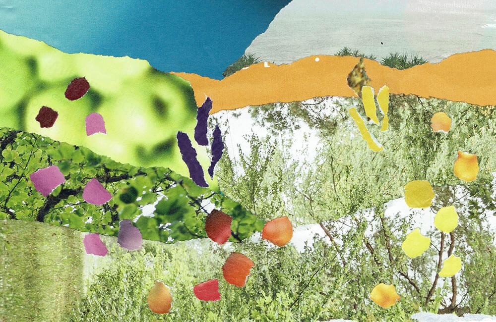 Postkarte Sommertraum